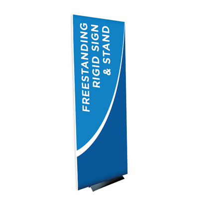 Frameless Rigid Sign - Design Online